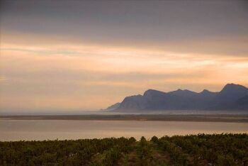 Betty\'s Bay sunset, Overberg, Whale Coast