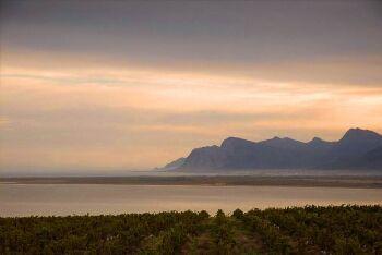 Betty\'s Bay sunset, Overberg, Whale Coast