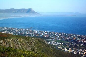 Kleinmond from the Hottentots Holland Mountains, Overberg, Whale Coast