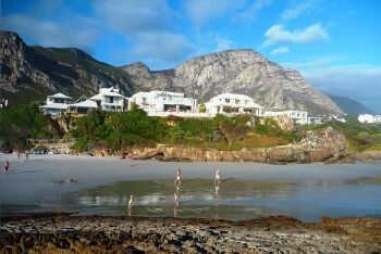 Beach in Hermanus, Overberg, Whale Coast